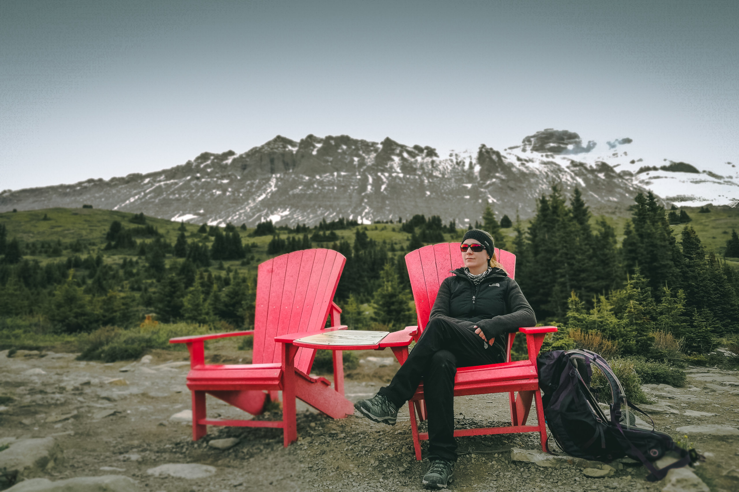 Die berühmten Red Chairs