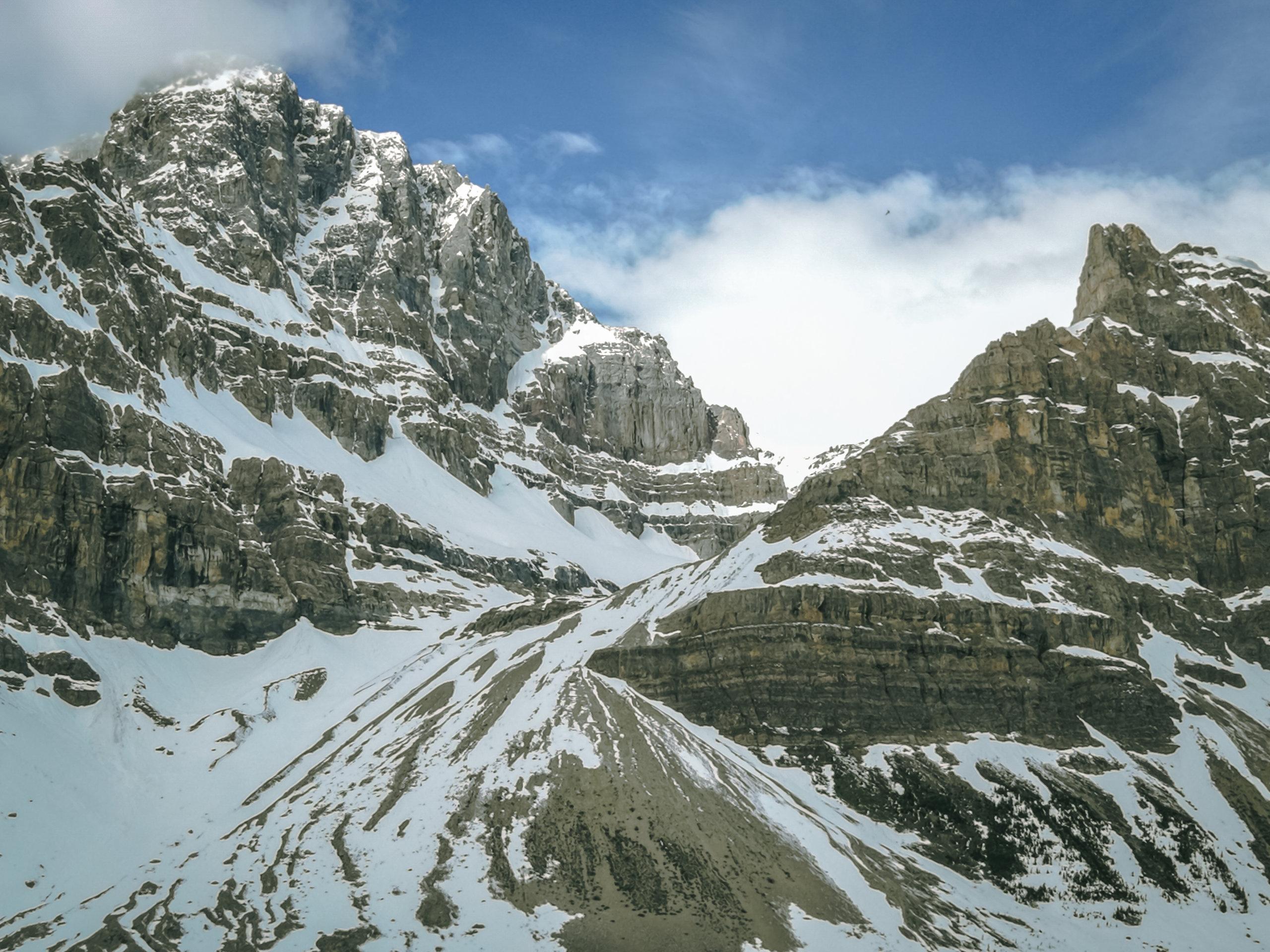 Bergpanorama am Peyto Lake Teil II