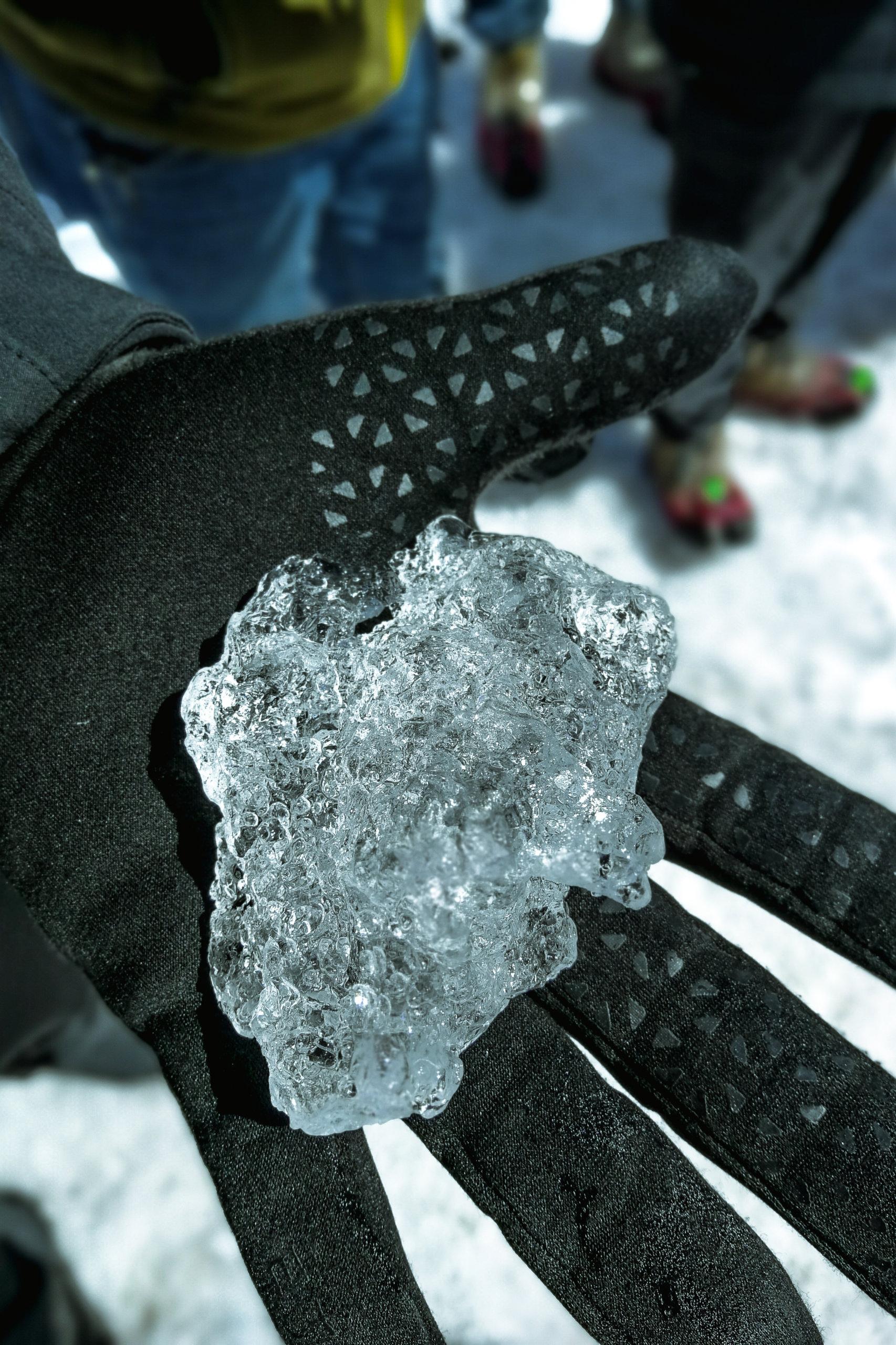 Tausend Jahre altes Eis
