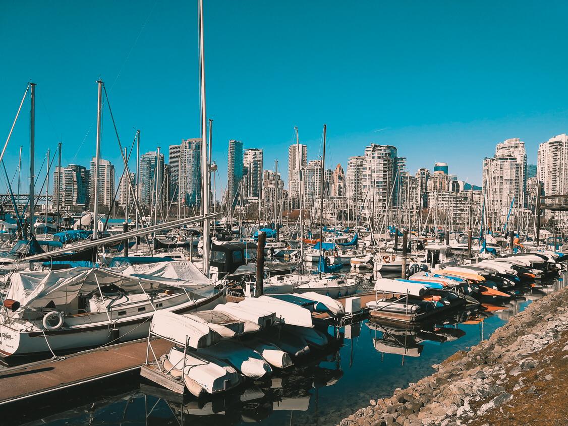Hafen Stamps Landing Vancouver
