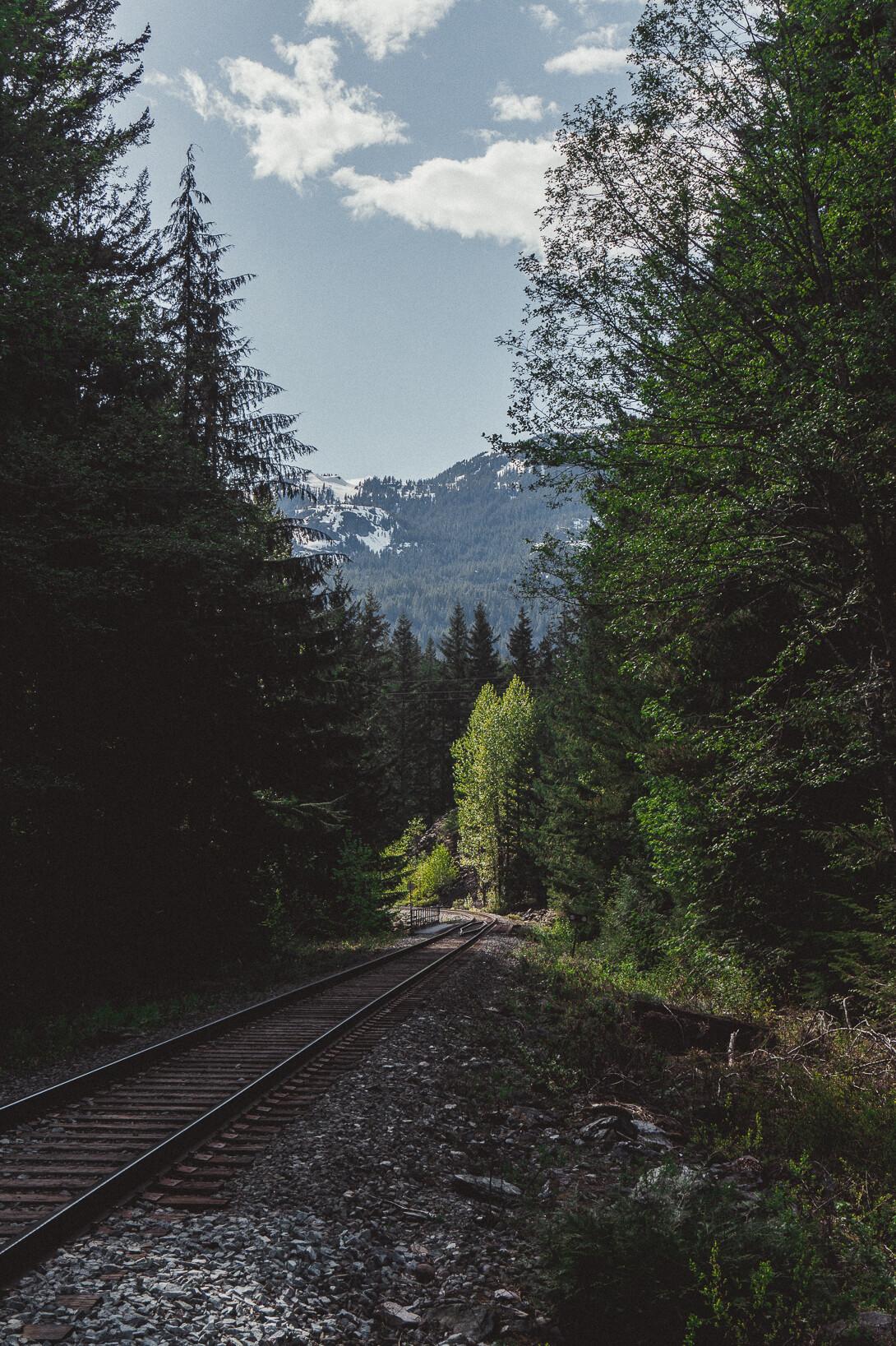 Weg zu den Brandywine Falls