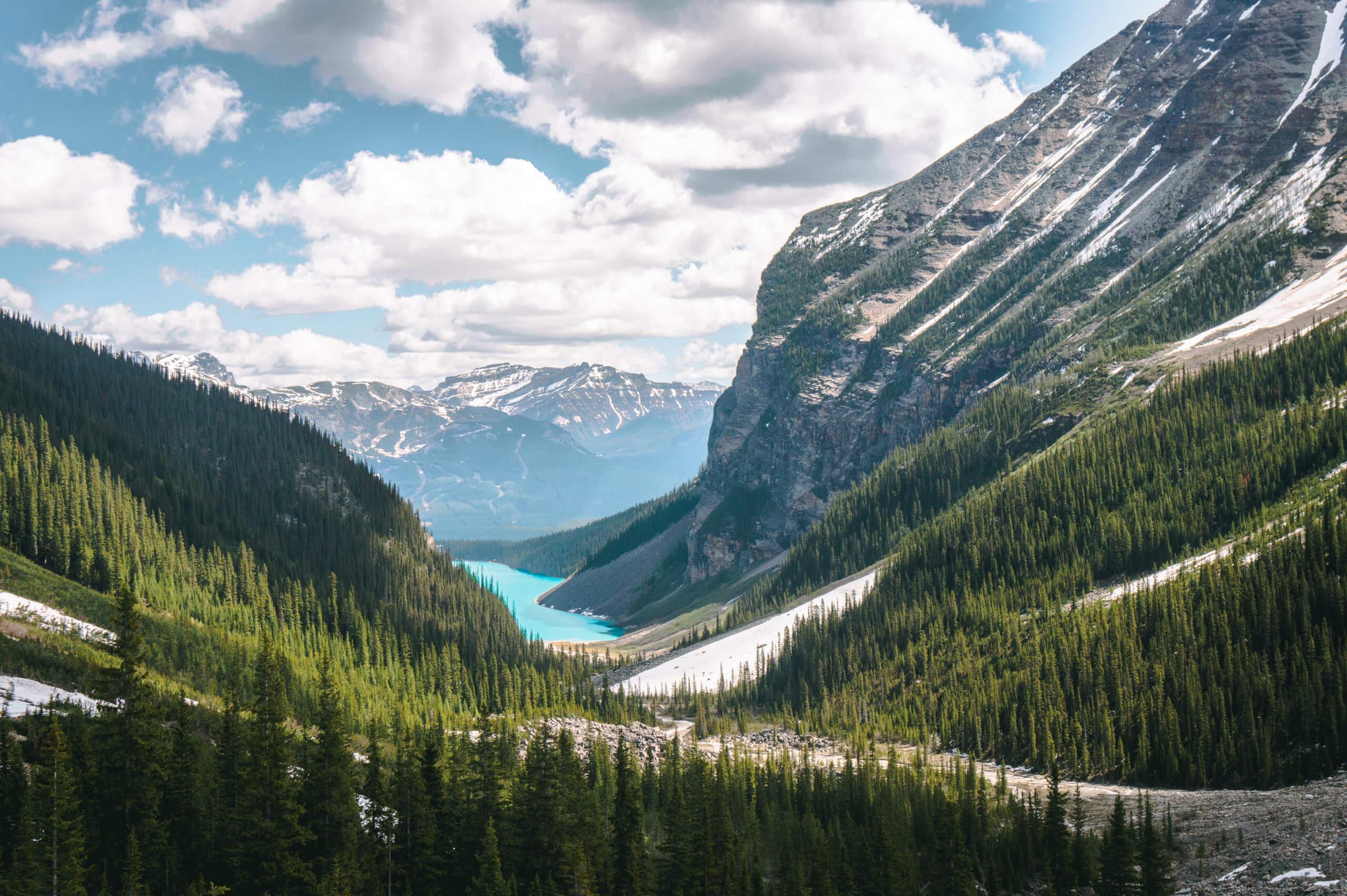 Blick auf den Lake Louise