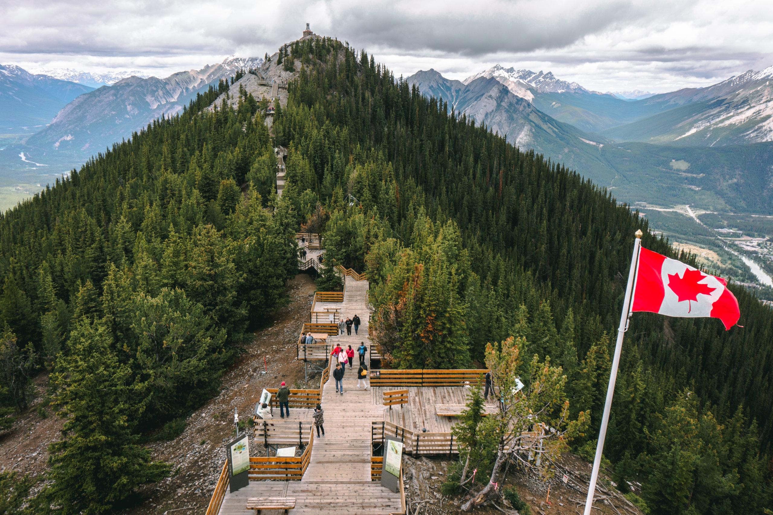 Der Weg zum Sanson´s Peak