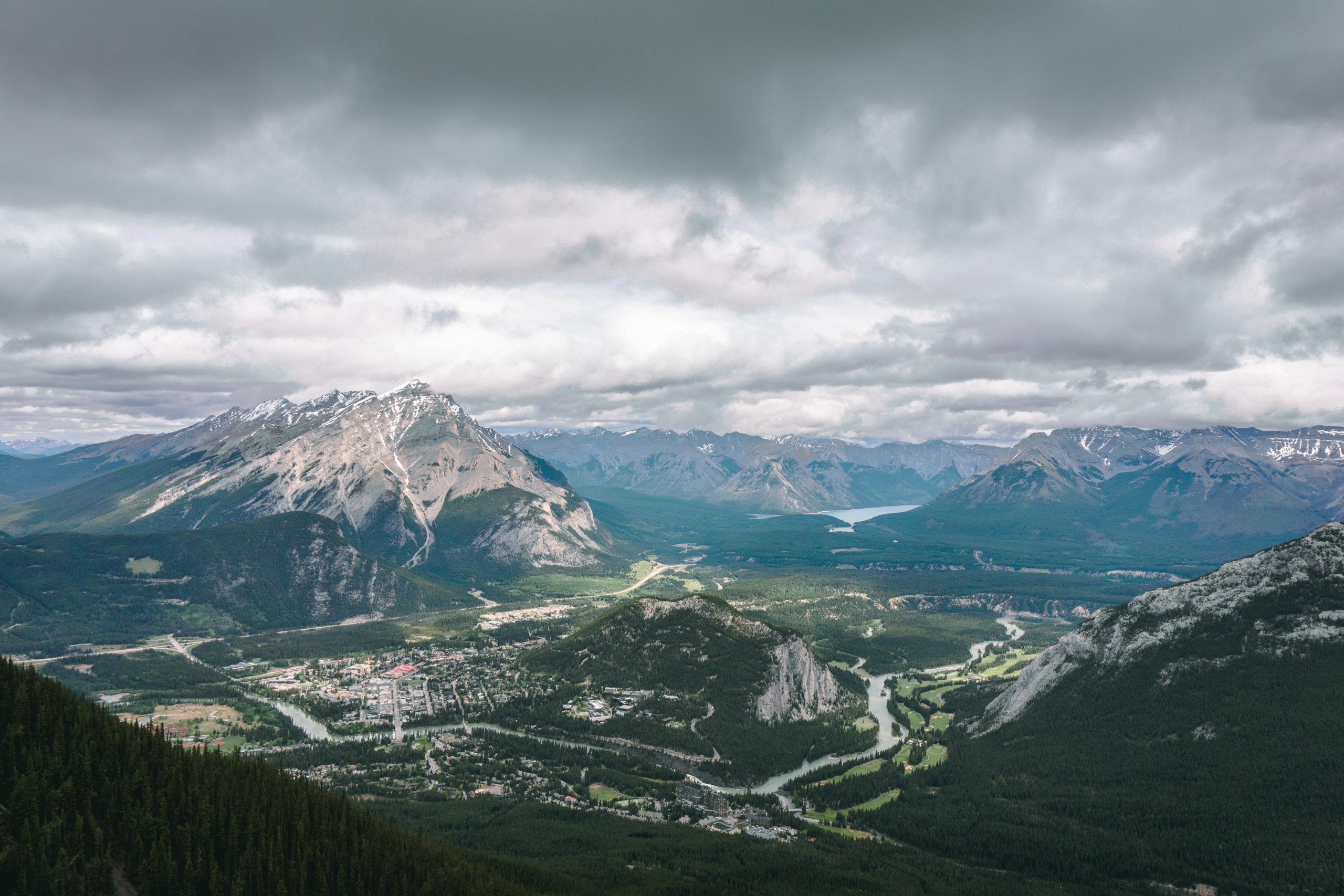 Ausblick vom Sanson´s Peak