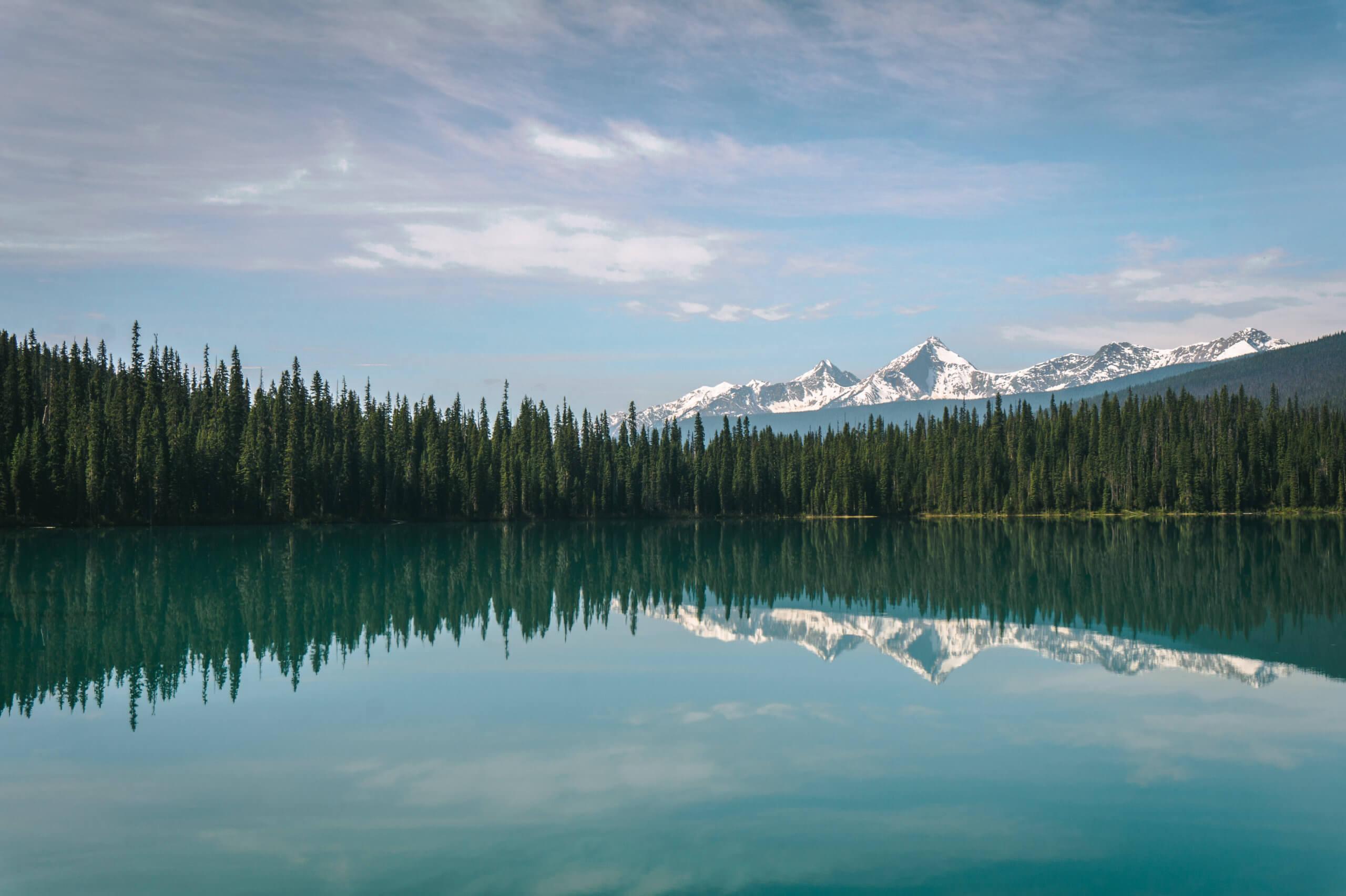 Emerald Lake mit Bergpanorama
