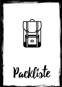 Packliste Work and Travel Kanada
