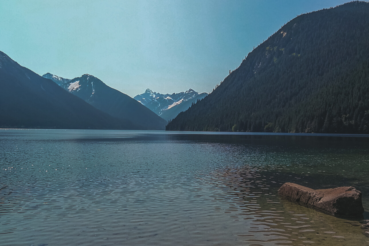Chilliwack Lake am nächsten Morgen
